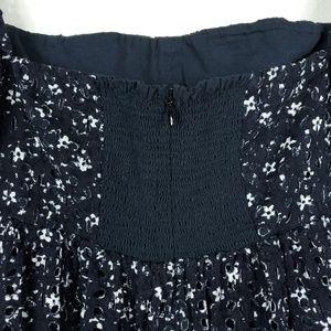 Anthropologie Dresses - Maeve Lillianne Off Shoulder Floral Eyelet Dress